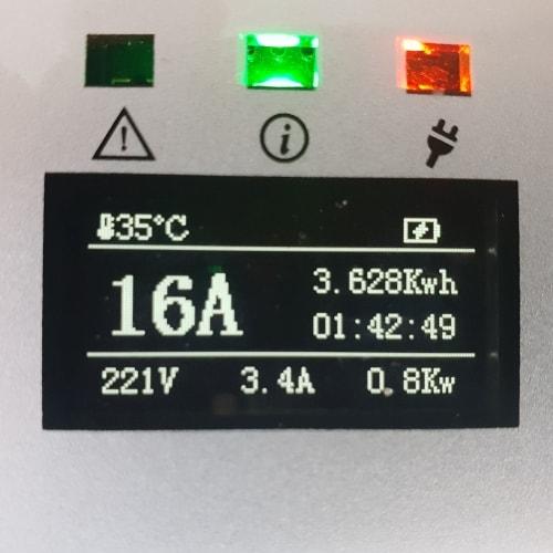 3-EV EVSE Type2 (max. 16A) Електрическо зарядно за автомобил