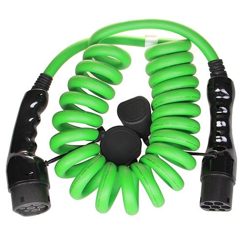 2-EV Type2 -> Type2 spiral (3x32A) Електрическо зарядно за автомобил